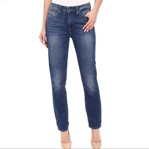 Paige Carter Slim High Rise Relaxed Skinny Jeans